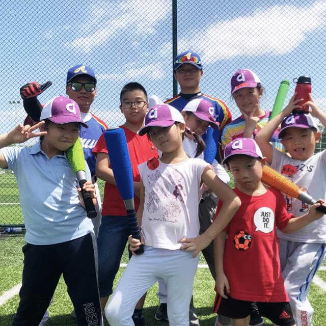 """爱青棒球夏令营第二季,""""我是小队长""""主题运动夏令营"""